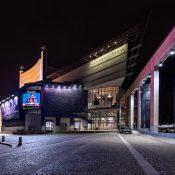 Operahuset under kvällstid
